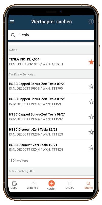 finanzen net zero smartphone app
